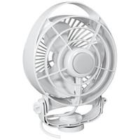 "Caframo Maestro 12V 3-Speed 6"" Marine Fan w\/LED Light - White"