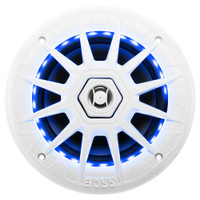 Boss Audio MRGB65 Coaxial Marine Speaker w\/RGB LED Lights - 6.5""