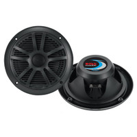 "Boss Audio MR6B 6.5"" Dual Cone Marine Coaxial Speaker (Pair) - 180W - Black"