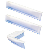 "Dock Edge 3 Piece Dock Bumper Kit - 1 Corner Piece, 2 18"" Straight Pieces"