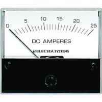 "Blue Sea 8005 DC Analog Ammeter - 2-3\/4"" Face, 0-25 Amperes DC"