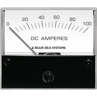 "Blue Sea 8017 DC Analog Ammeter - 2-3\/4"" Face, 0-100 Amperes DC"