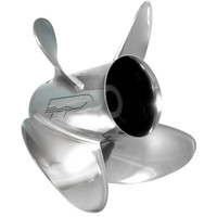 Turning Point Express Stainless Steel Right-Hand Propeller - 13.5 x 17 - 4-Blade