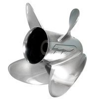 Turning Point Express Stainless Steel Left-Hand Propeller - 14 x 19 - 4-Blade