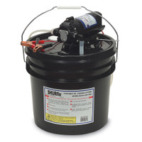 SHURFLO Oil Change Pump w\/3.5 Gallon Bucket - 12 VDC, 1.5 GPM