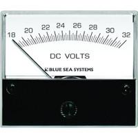 "Blue Sea 8240 DC Analog Voltmeter - 2-3\/4"" Face, 18-32 Volts DC"