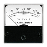 "Blue Sea 8244 AC Analog Micro Voltmeter - 2"" Face, 0-150 Volts AC"