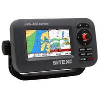 "SI-TEX SVS-460CE Chartplotter - 4.3"" Color Screen w\/External GPS & Navionics+ Flexible Coverage"