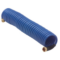 HoseCoil Blue Hose w\/Flex Relief - 25'