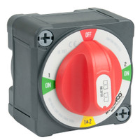 BEP Pro Installer 400A EZ-Mount Battery Selector Switch (1-2-Both-Off)