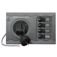 BEP Battery Control Center f\/Twin Engine Remote