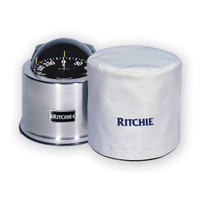 "Ritchie GM-5-C GlobeMaster 5"" Binnacle Cover - White"