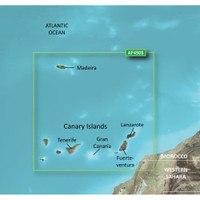 Garmin BlueChart g2 Vision - VAF450S - Madeira & Canary Islands - microSD\/SD