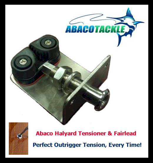 Abaco Outrigger Halyard Tensioner Kit - Pair