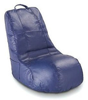 Abaco Bean Bag Chair - Blue - Oversized