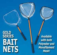 Aftco Gold Series Bait Net 24 inch Handle 8 inch Hoop