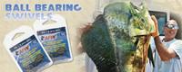 AFW Ball Bearing Snap Swivel 440# 1 Pack