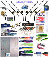 Alltackle Blue Marlin 130# Trolling Spread Package w/ Shimano Rods & Reels