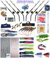 Alltackle Blue Marlin 80# Trolling Spread Package w/ Shimano Rods&Reels