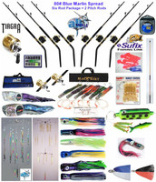 Alltackle Blue Marlin 80# Trolling Spread Package w/ Shimano Rods & Reels