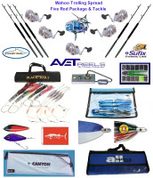 Alltackle Wahoo  Fishing Gear Kit w/ Avet Reels & Crowder Rods