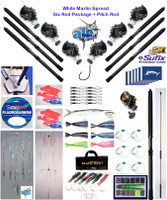 Alltackle White Marlin Fishing Gear  Package w/ Shimano Reels