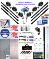 Alltackle White Marlin Fishing Gear  Package w/ Shimano Reels