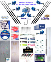 Alltackle White Marlin Fishing Gear Package w/ Avet Reels