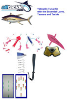 Alltackle Yellowfin Tuna Trolling Fishing Tackle Package - Casey Custom