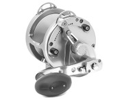 Avet Reels - HX MC 2-Speed Silver Left Hand
