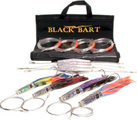 Black Bart Light Wahoo Kit Single Hooks