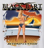 Black Bart T-Shirt Beyond Custom Small