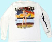 Black Bart T-Shirt LS Beyond Custom XL