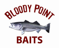 Bloody Point Baits Shad Black 9inch 10 Pack