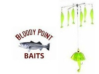 Bloody Point Umbrella Rig Chartreuse