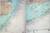 Captain Segull Chart - Fowey Rocks to Sombrero Key- FL