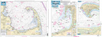 Captain Segull Chart - Harbors of Cape Cod- MA
