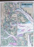 Captain Segull Chart - ICW: Beaufort River- SC to St Simons Sound GA