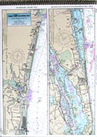 Captain Segull Chart - ICW: Myrtle Grove Sound to Casino Creek- SC