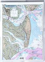Captain Segull Chart - ICW: St Simons Sound- GA to Tolomato River- FL
