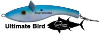 Carlson Ultimate Teaser Bird - Blue Chrome