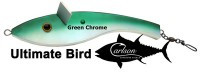 Carlson Ultimate Teaser Bird - Green Chrome
