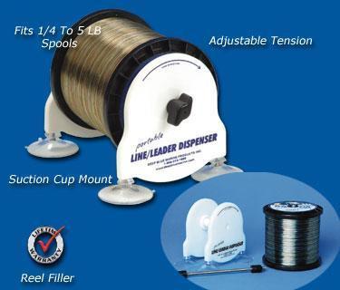 Deep Blue Marine Adjustable Tension Line Dispenser