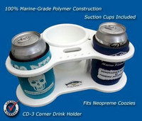 Deep Blue Marine CD-3 Corner Drink Holder