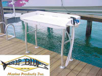 Deep Blue Marine Dockside Fillet Table 48 x 21 (shown)