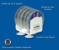 Deep Blue Marine Fluorocarbon Leader Spool Dispenser - 4 Spools