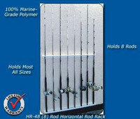 Deep Blue Marine Horizontal Rod Rack