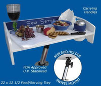 Deep Blue Marine Multi System Sea Serve Table Kit w/ Base 22x12.5