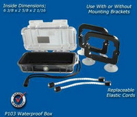Deep Blue Marine Pelican Box - Small