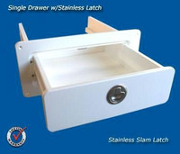 Deep Blue Marine Single Drawer White - 2-4 weeks lead time